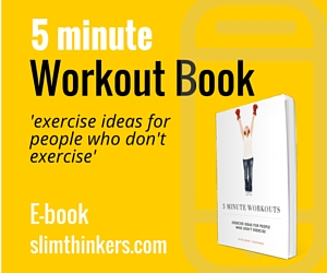 5 minute workout book