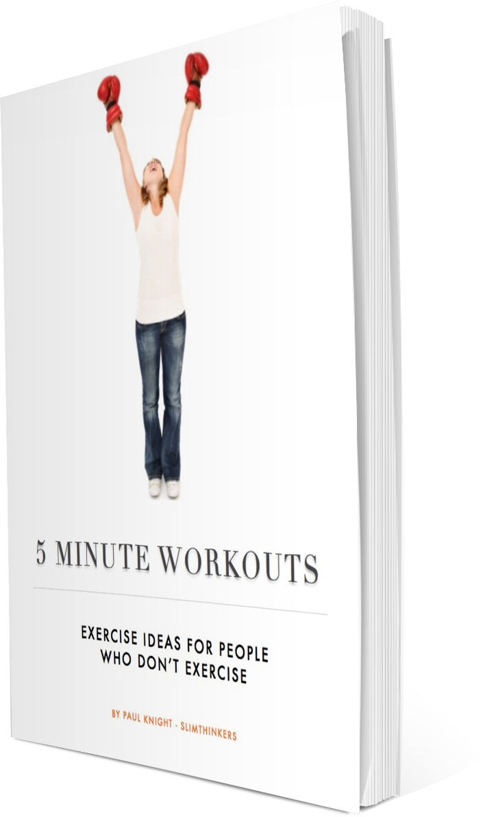 5 Minute Workout Book | Workbook Exercise & Weight Loss ...