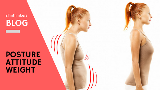 improve your posture lose weight